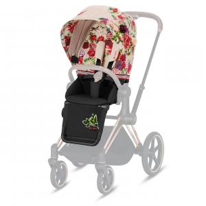 Cybex - 519003961 - Habillage de siège Priam Spring Blossom Light - beige (413686)