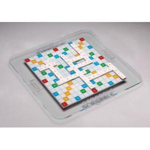 Megableu editions - 855066 - Scrabble plateau en verre luxe - dés 10 ans (414076)