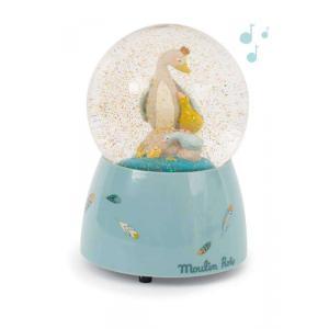 Moulin Roty - 714241 - Boule à neige musicale Le Voyage d'Olga (414204)