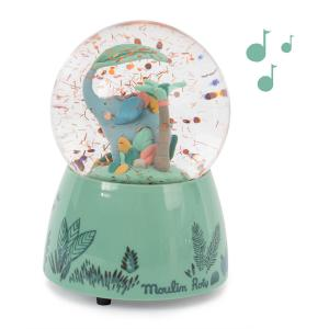 Moulin Roty - 669241 - Boule à neige musicale Sous mon baobab (414238)