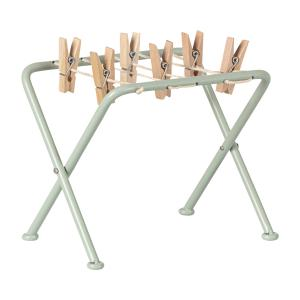 Maileg - 11-9103-00 - Drying rack w. pegs - Taille : 10 cm (414394)