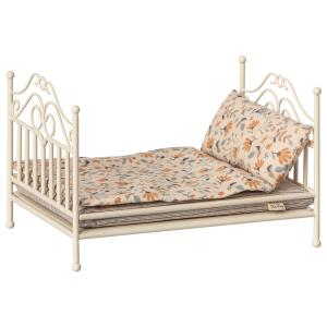 Maileg - 11-9113-00 - Vintage bed, Micro - Soft sand - Taille : 6 cm (414406)