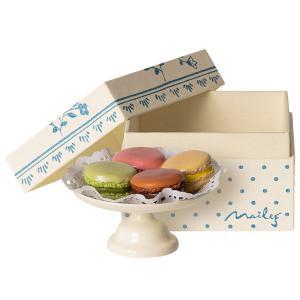 Maileg - 11-9116-00 - Macarons et chocolat chaud - Taille 5 cm - à partir de 36 mois (414410)