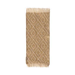Maileg - 11-9402-01 - Miniature rug, 22 x 9 cm. - Mustard - Taille : 24 cm (414416)