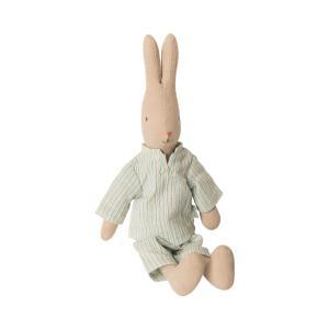 Maileg - 16-9122-00 - Rabbit size 1, Pyjamas - Taille 25 cm - de 0 à 36 mois (414662)