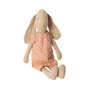 Maileg - 16-9202-00 - Bunny size 2, Nightgown - Rose - Taille : 28 cm (414666)