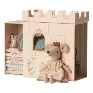 Maileg - 16-9733-01 - Princess on the pea, Big sister mouse - Taille : 17 cm (414722)