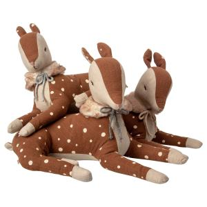 Maileg - 16-9931-00 - Cosy Bambi, Little girl - Taille : 26 cm (414728)