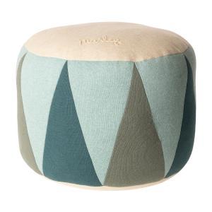Maileg - 19-9501-01 - Puff, Medium drum - Mint - Taille : 24 cm (414784)