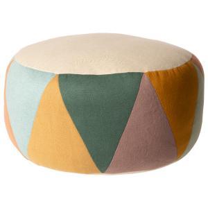 Maileg - 19-9502-00 - Puff, Large drum - Multi - Taille : 24 cm (414786)