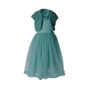 Maileg - 21-9200-01 - Ballerina dress, 2-3 years - Petrol - Taille : 44 cm (414796)