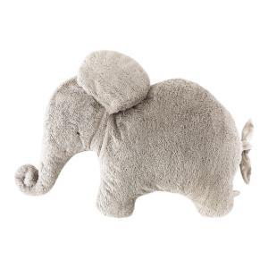 Dimpel - 886054 - Coussin éléphant Oscar Pillou 82 cm - beigegris (415108)