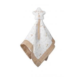 Vulli - 220126 - Doudou avec attache-sucette So'pure Sophie la girafe (à base de coton BIO et fibre de maïs) (415176)