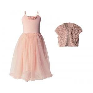 Maileg - BU001 - Pack robe ballerina avec bolero 2-3 ans - Rose (415508)