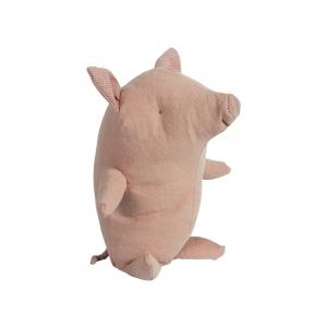 Maileg - BU031 - Set de poupées cochon truffe petit, amis safari petit rhinocéros vert, Panda grand, Amis de safari petit hippo jaun (415568)