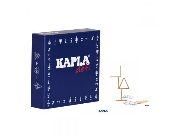Kapla défi (16 planchettes + 12 cartes défi)