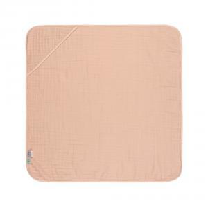 Lassig - 1312020703 - Cape de bain en mousseline rose clair 0-24 mois (415664)