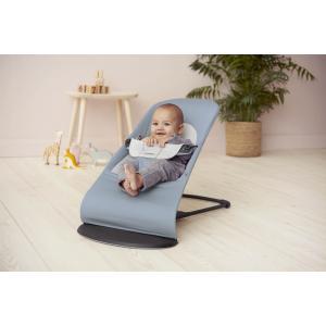 Babybjorn - 005045 - Transat Balance Soft, Bleu/Gris, Coton/Jersey (416032)