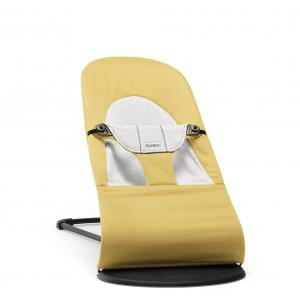 Babybjorn - 005061 - Transat Balance Soft, Jaune/Gris, Coton/Jersey (416034)