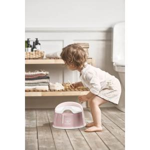 Babybjorn - 051264 - Pot Smart, Rose pastel/Blanc (416068)