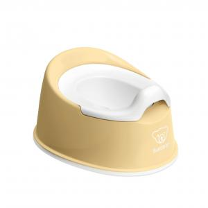 Babybjorn - 051266 - Pot Smart, Jaune pastel/Blanc (416070)