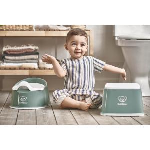 Babybjorn - 051268 - Pot Smart, Vert profond/Blanc (416072)
