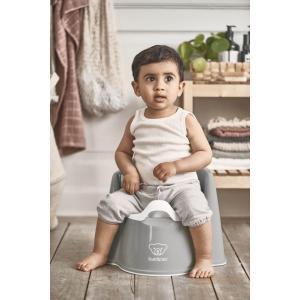 Babybjorn - 055225 - Pot Fauteuil, Gris/Blanc (416078)