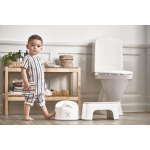 Babybjorn - 061221 - Marchepied, Blanc/Gris (416088)