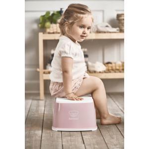 Babybjorn - 061264 - Marchepied, Rose pastel/Blanc (416092)