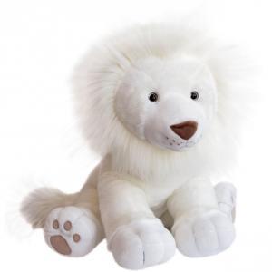 Histoire d'ours - HO2983 - Peluches Lion des neiges 65  cm  - collection Les grands espaces (416164)