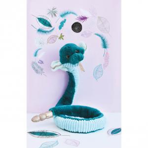 Histoire d'ours - HO2975 - Peluches Cobra émeraude  - collection Jungle chic (416176)