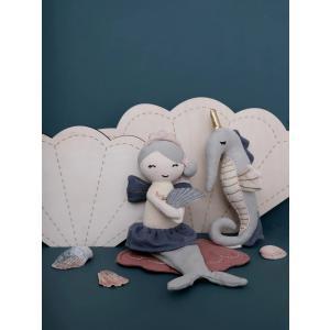Fabelab - 1901432030 - Rattle Soft - Seahorse (416214)
