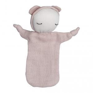 Fabelab - 1901854103 - Cuddle - Doll - Mauve 10 x 12.5 cm (416228)