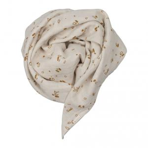 Fabelab - 28006049205 - Swaddle- Printed and Solid pack- Pine Cones (416248)