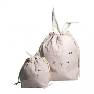 Fabelab - 1901903303 - Storage Bag - Small - Bunny - mauve 32 x 40 cm (416334)