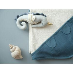 Fabelab - 1900800026 - Towel - Baby - Blue Spruce (416484)