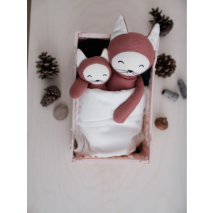 Fabelab - 1905705127 - Rattle Soft - Fox 17 cm (416530)
