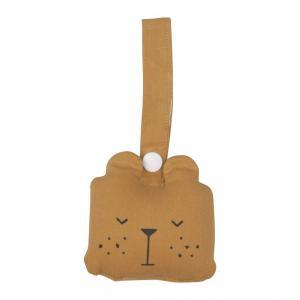 Fabelab - 2801404105 - Animal Rattle- Bear- ochre (416624)