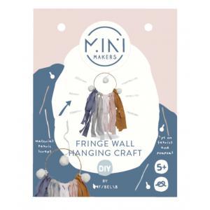 Fabelab - 1804915099 - Fringe Wall Hanging Craft 10 x 20 cm  (416654)