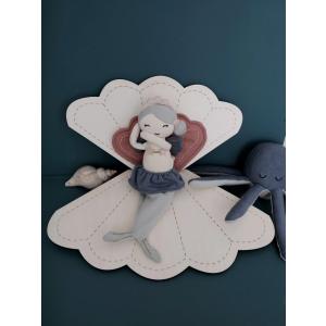Fabelab - 1901440126 - Hochet octopus en coton - 17 cm (416668)