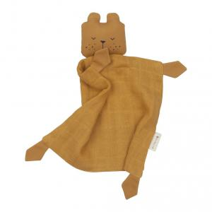 Fabelab - 2801804105 - Animal Cuddle Bear- ochre 34x26 cm (416708)
