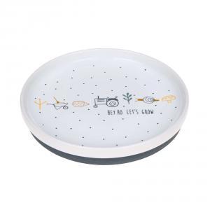 Lassig - 1210041481 - Assiette en porcelaine Garden Explorer (416894)