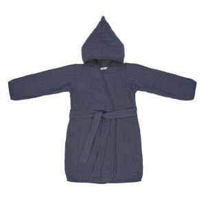 Lassig - 1312018401-18 - Peignoir en mousseline bleu marine (417020)