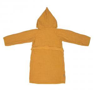 Lassig - 1312018837-36 - Peignoir en mousseline moutarde (417030)