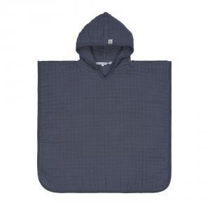 Lassig - 1312019401 - Poncho en mousseline bleu marine (417032)