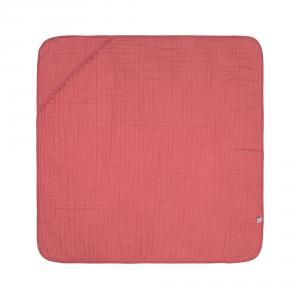 Lassig - 1312020611 - Cape de bain en mousseline bois de rose (417040)