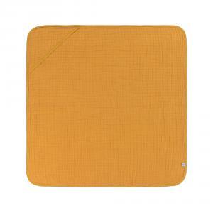 Lassig - 1312020837 - Cape de bain en mousseline moutarde (417042)