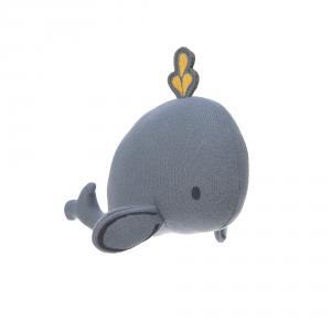 Lassig - 1313009452 - Hochet tricoté Little Water Baleine (417060)