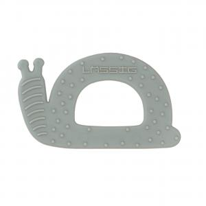 Lassig - 1313012563 - Anneau de dentition bébé Silicone escargort (417074)