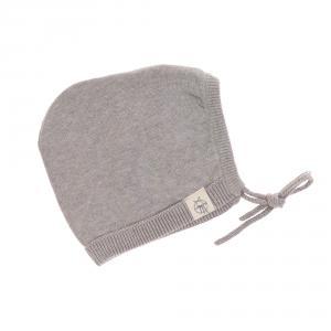 Lassig - 1531001200-80 - Bonnet tricoté GOTS Garden Explorer gris, 74/80 (417082)